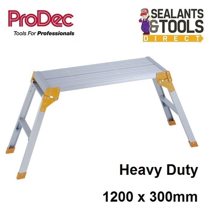 Folding 1200mm Aluminium Platform
