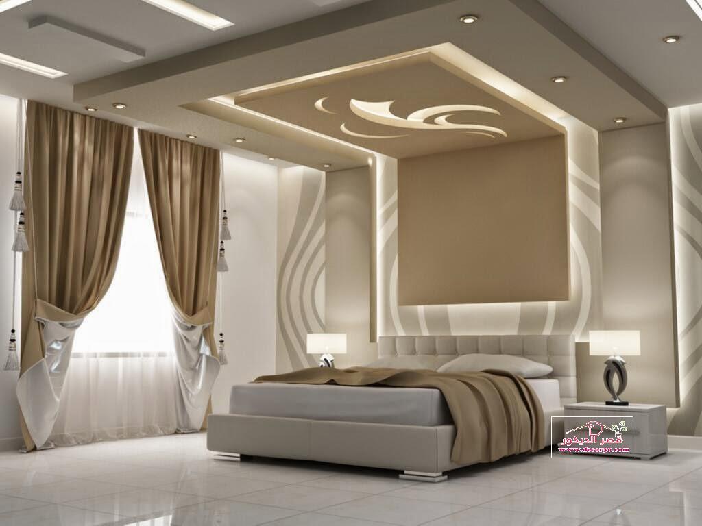 احدث اسقف جبس لغرف النوم