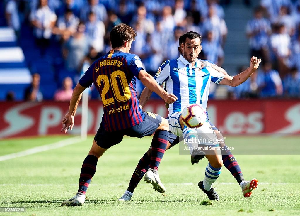 صور مباراة : ريال سوسيداد - برشلونة 1-2 ( 15-09-2018 ) Hh