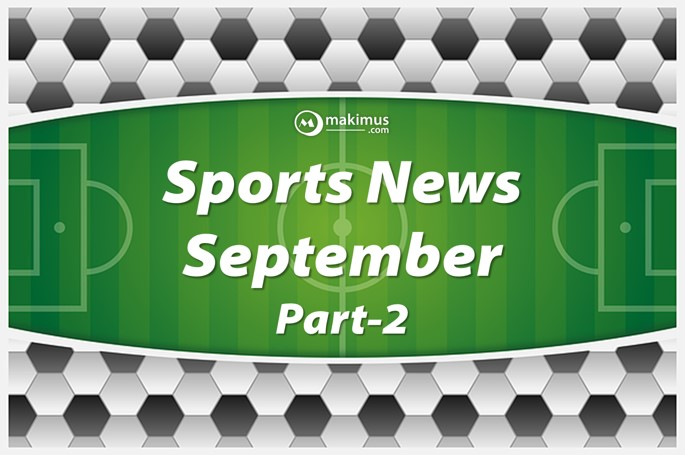 Important Downloadable Free PDF of Sports Currents September Part-2 2017