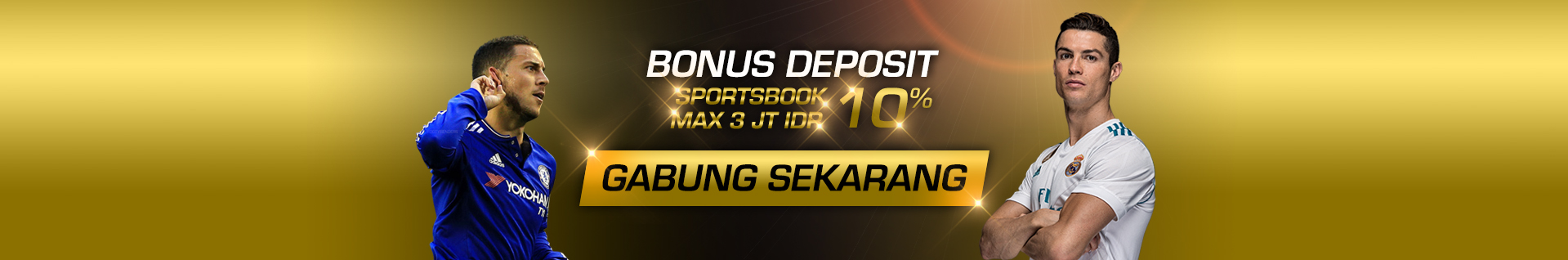 SPORTSBOOK FIRST DEPO 10%