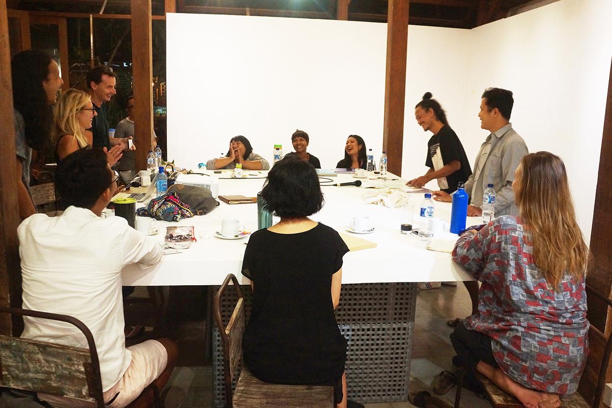 Conceptual Art Spatial Exploration Workshop at Uma Seminyak