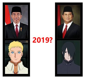 Kematian Naruto Dalam Anime Boruto Ditentukan Oleh Hasil Pilpres 2019