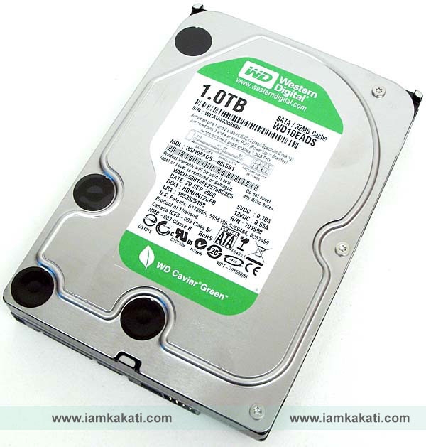 green WD Hard drive disk price