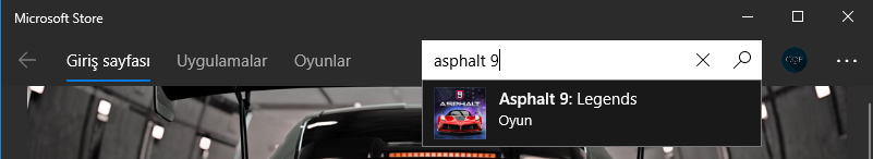 asphalt9 windows10