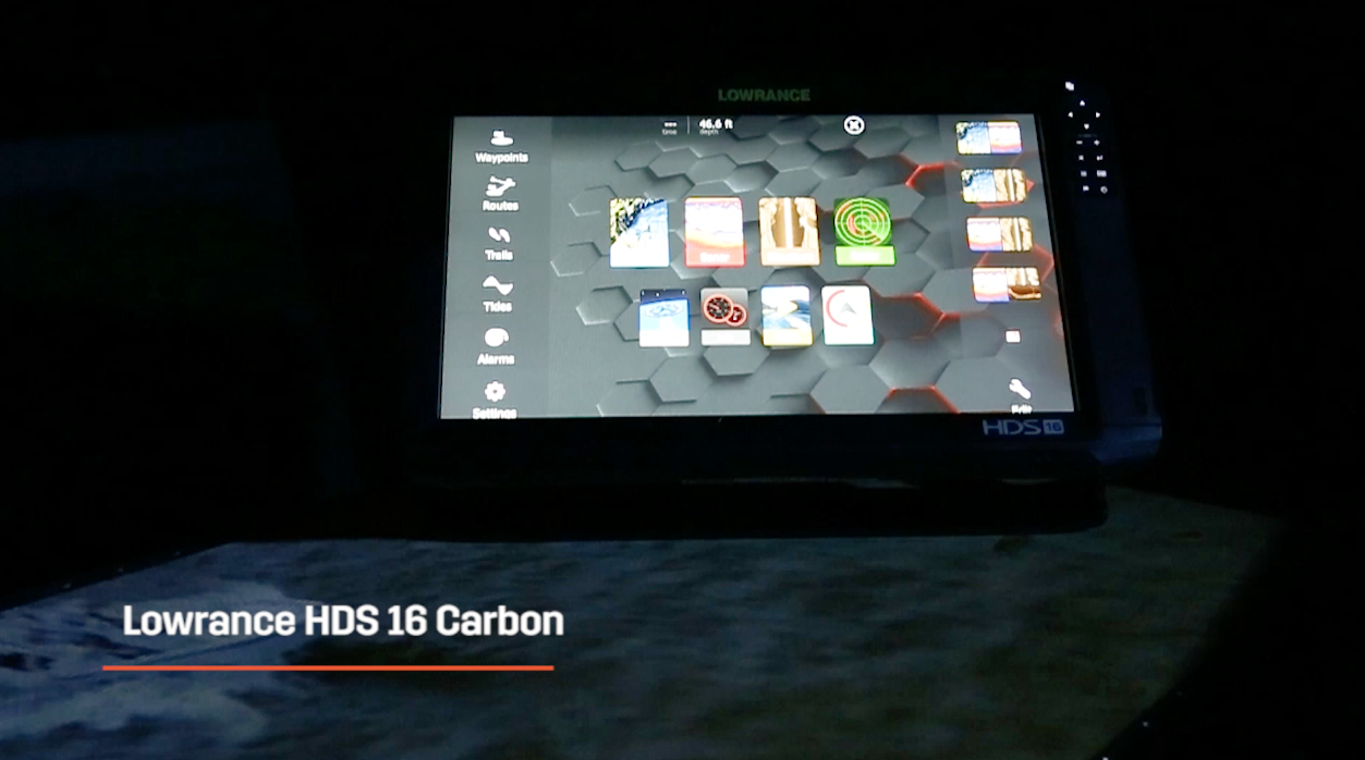 2018 Marine Electronics Guide: Lowrance HDS Carbon 16