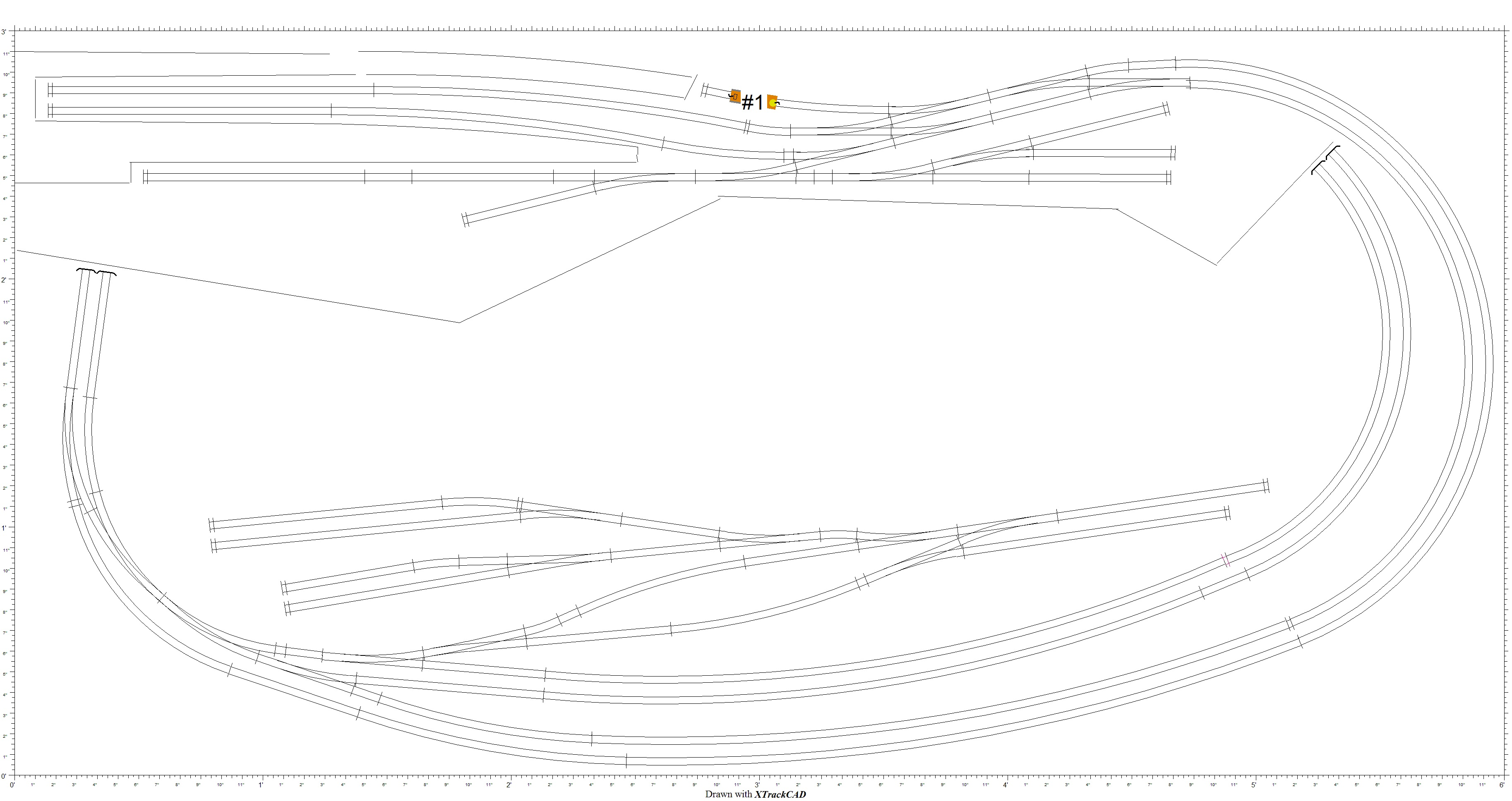 Ideas For An N Gauge Door Sized Layout New Railway