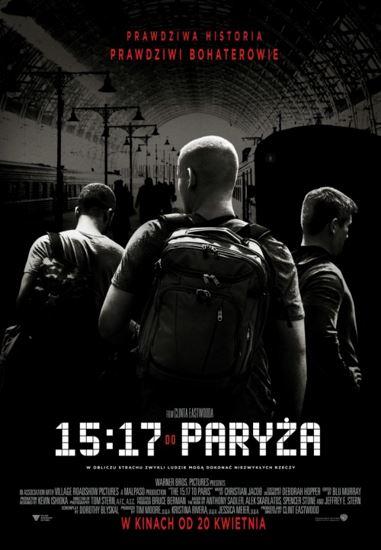 15:17 do Paryża / The 15:17 to Paris (2017) PL.BRRip.XviD-GR4PE   Lektor PL