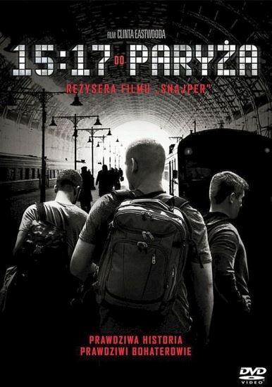 15:17 do Paryża / The 15:17 to Paris (2017) PL.AC3.DVDRip.XviD-GR4PE   Lektor PL