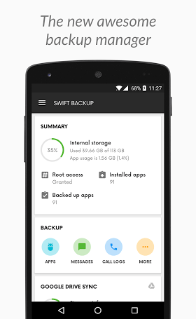 Swift Backup Premium 1.2.2 APK