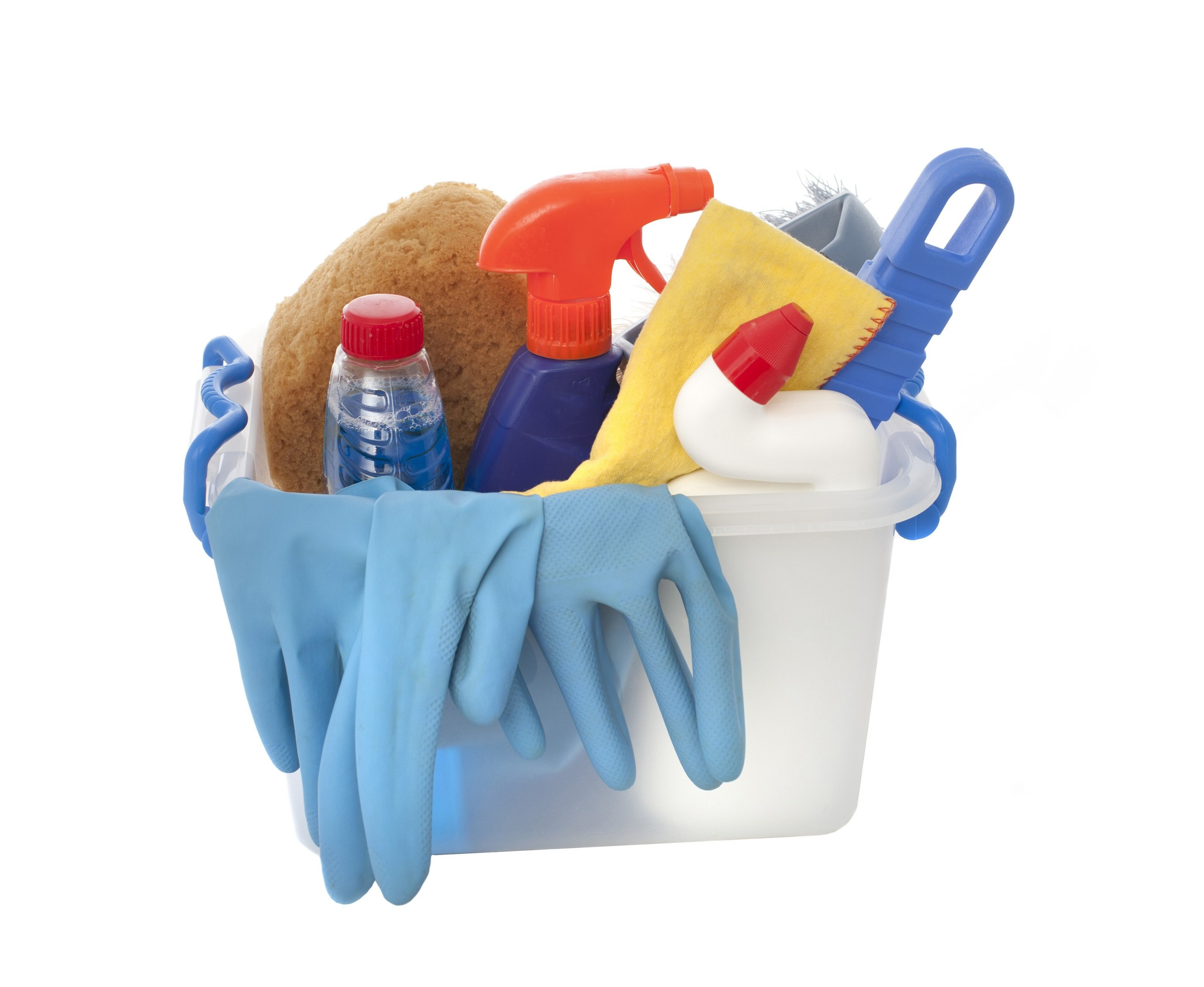 Chlorine is used as a disinfectant in many cleaning chemicals