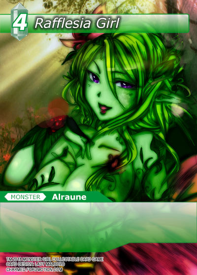 Monster Girl Collectible Card Profiles: Villainesses! - Page 2 Rafflesia_Girl