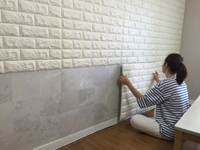 3D WallpaperSticky WallpaperFoamBrick Foam Block