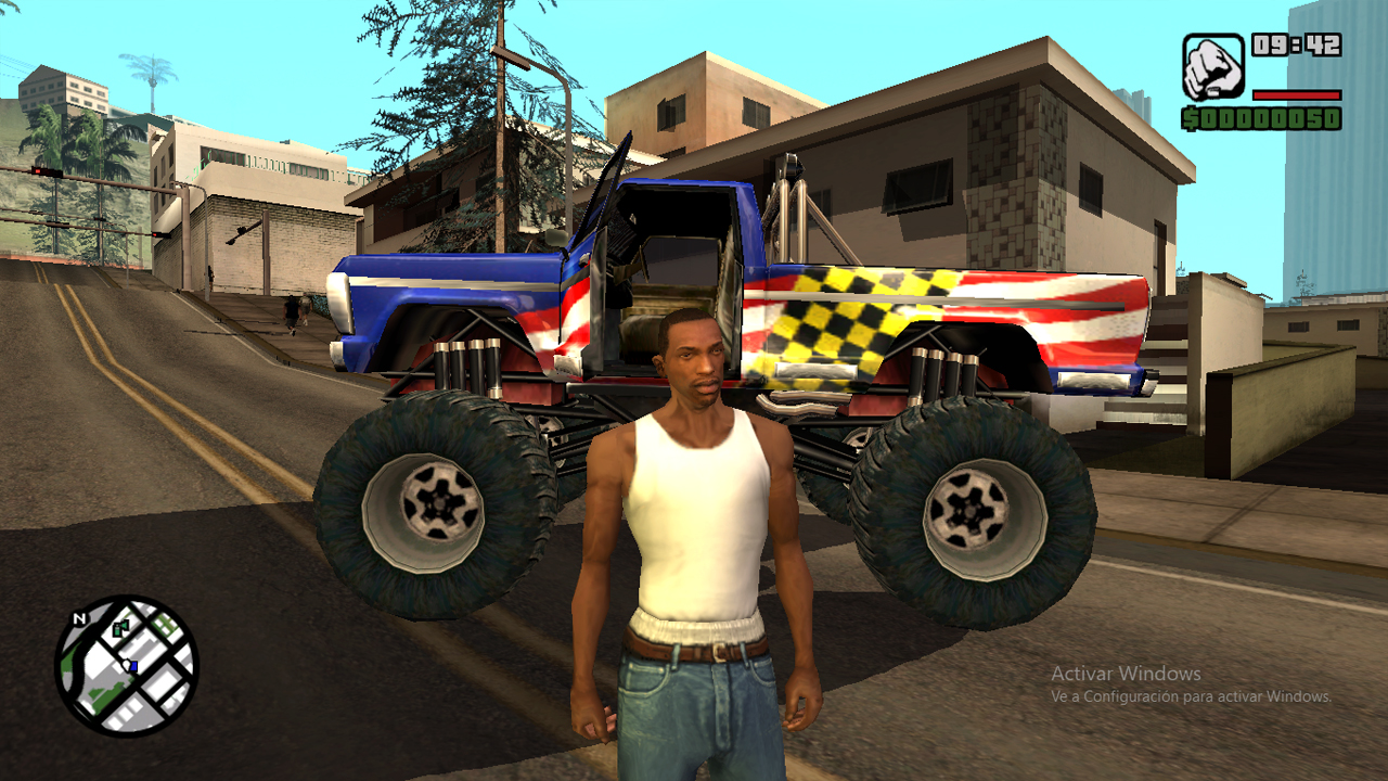 GTA San Andreas: versión final (no oficial).