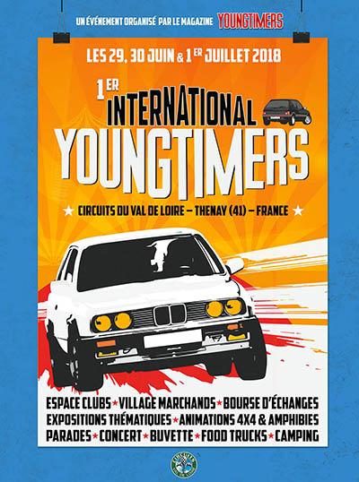 [41]Youngtimers international - circuit Thenay - 29 juin au 1 juillet 2018 Affiche_YTint_1