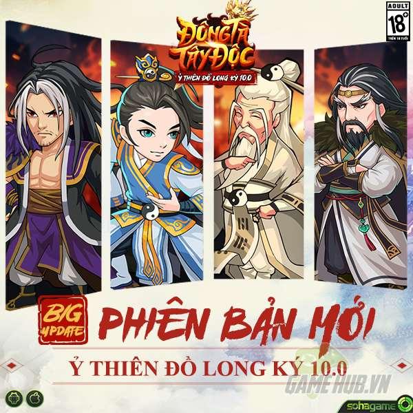 Đông Tà Tây Độc 10.0: Ỷ Thiên Đồ Long Ký chính thức khai mở, tặng ngay 1000 Giftcode giá trị - ảnh 1