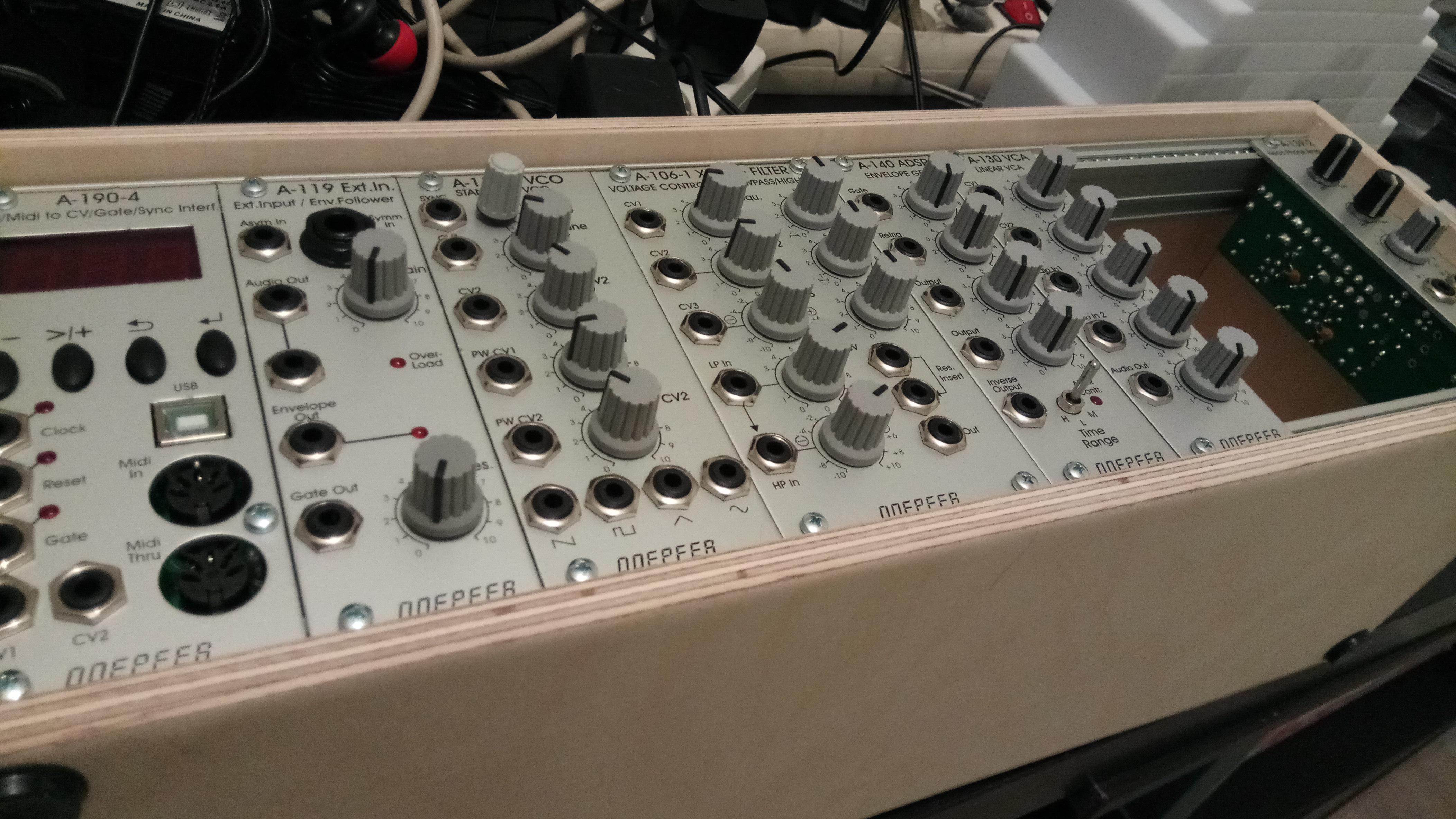 Mijn modulaire kick off zit ik in de goede hoek pagina 2 synthforum - De goede hoek tele ...