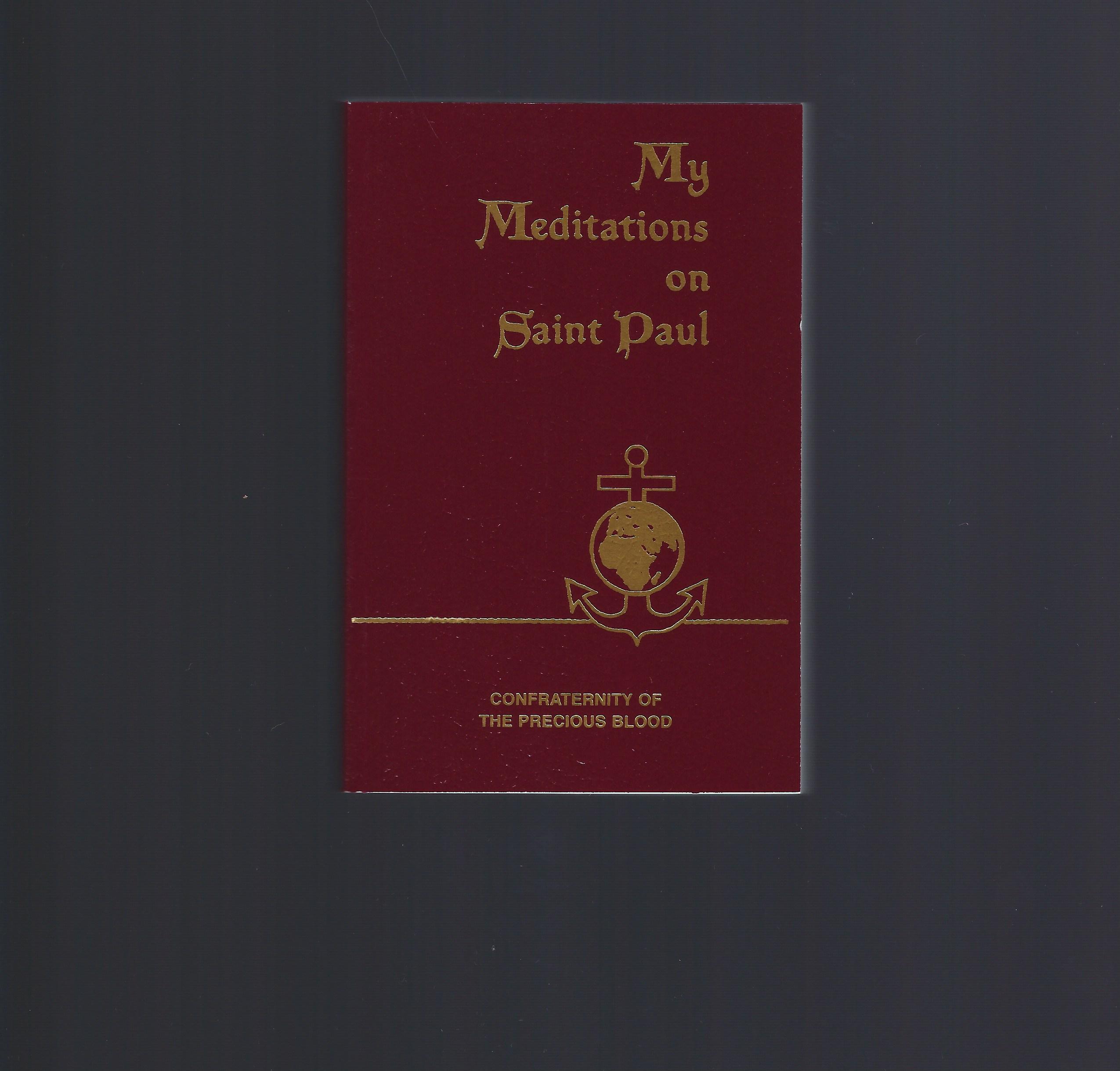 My Meditations on Saint Paul, Sullivan, James E.