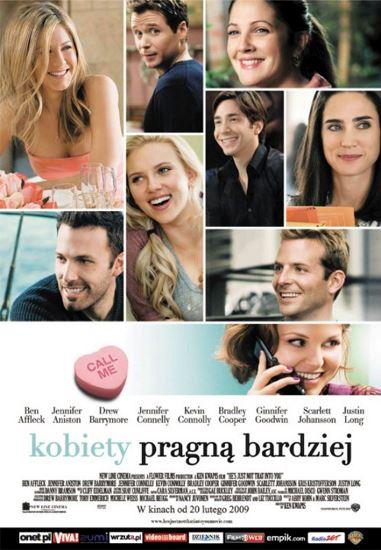 Kobiety pragną bardziej / He's Just Not That Into You (2009)  PL.BRRip.Xvid-GR4PE / Lektor PL
