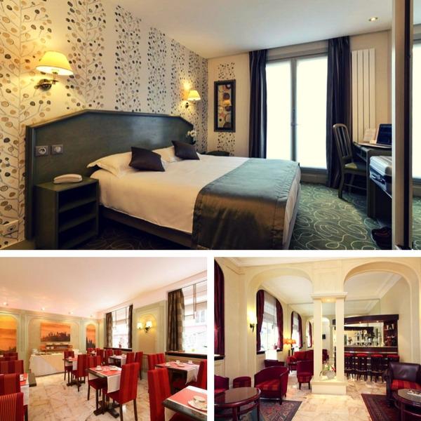Mejores hoteles baratos en París - conpasaporte.com - Relais du Pré