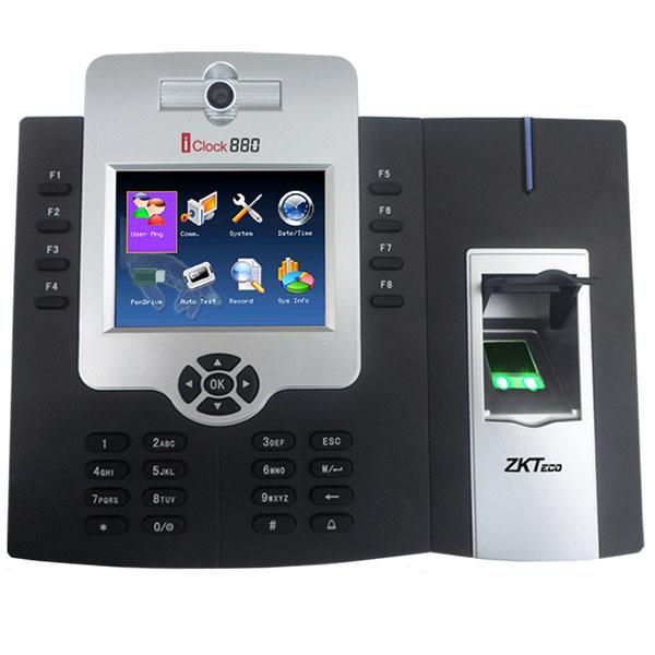 ICLOCk 880 - ZKTeco - Bio Metric Time Attendance Devices