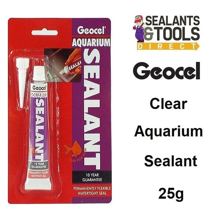 Geocel Aquaria Aquarium Silicone Sealant 25g - CLEAR