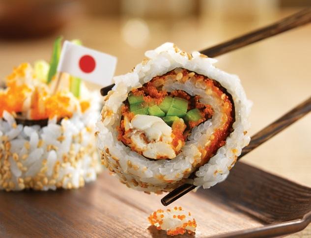 Sushi at Walt Disney World Epcot