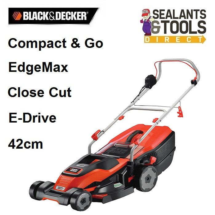 Black & Decker EMAX42I 1800W 42cm Electric Lawn Mower
