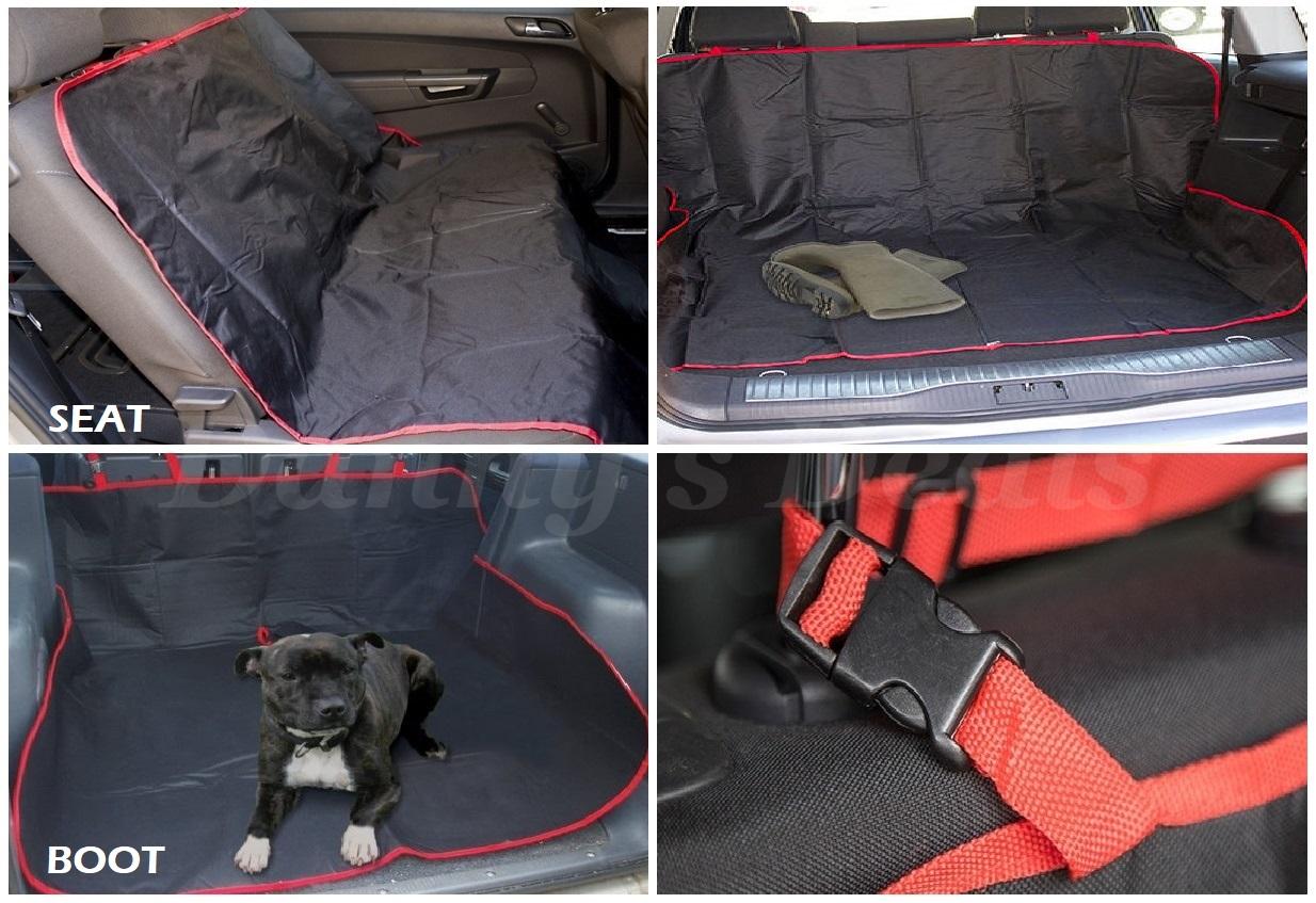 Ritorno di 10 giorni Nero per Cane Sedile avvio PROTECTOR copertura di protezione protezione protezione letto per Suzuki Splash 2008 - 2014  stile classico