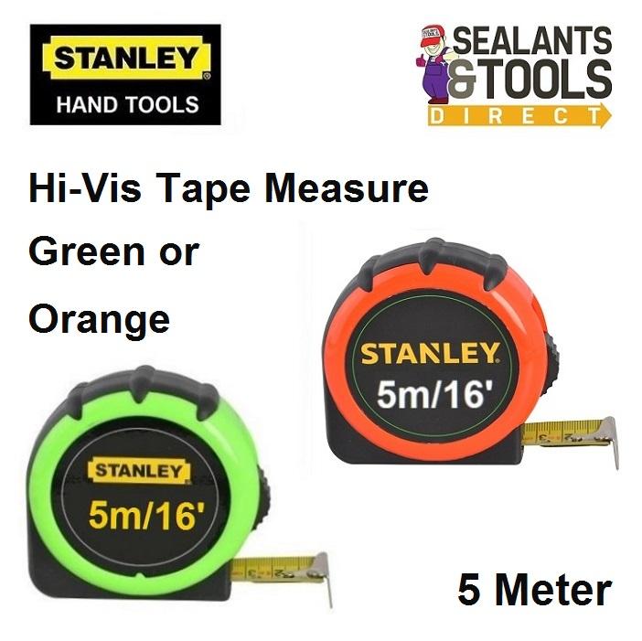 Stanley Hi Vis 5 Meter Tape Measure