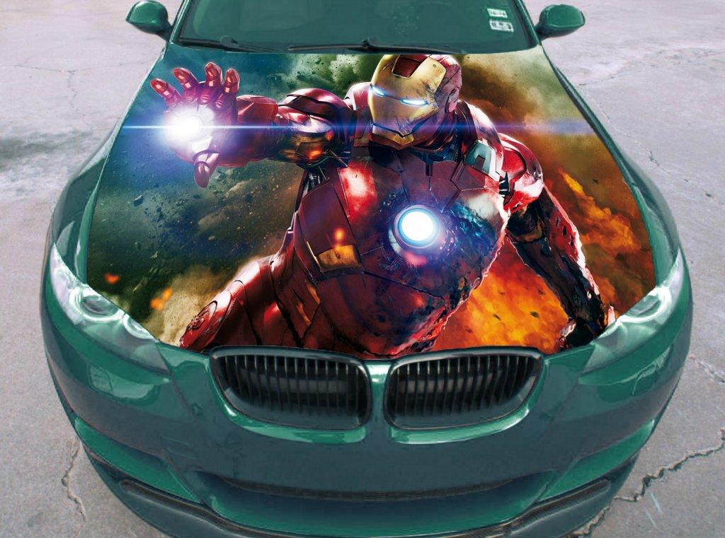 Buy Tony Stark Arc Reactor Suit Core Heart Hood Industries Superhero Comic Car Vinyl Sticker Decal