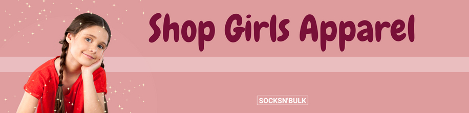 Girls Apparel at Socks In Bulk