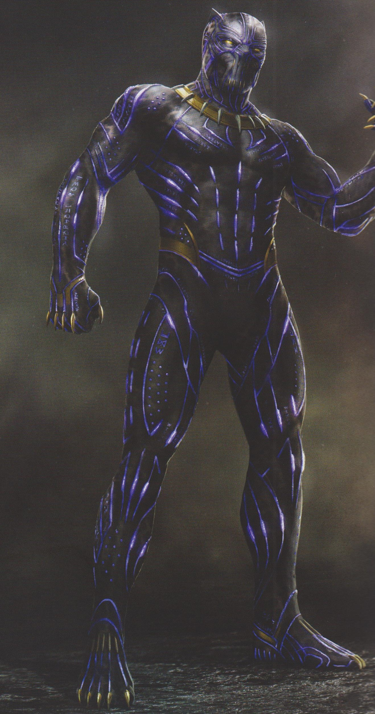 Black Panther Jaw Dropping New Concept Art Reveals