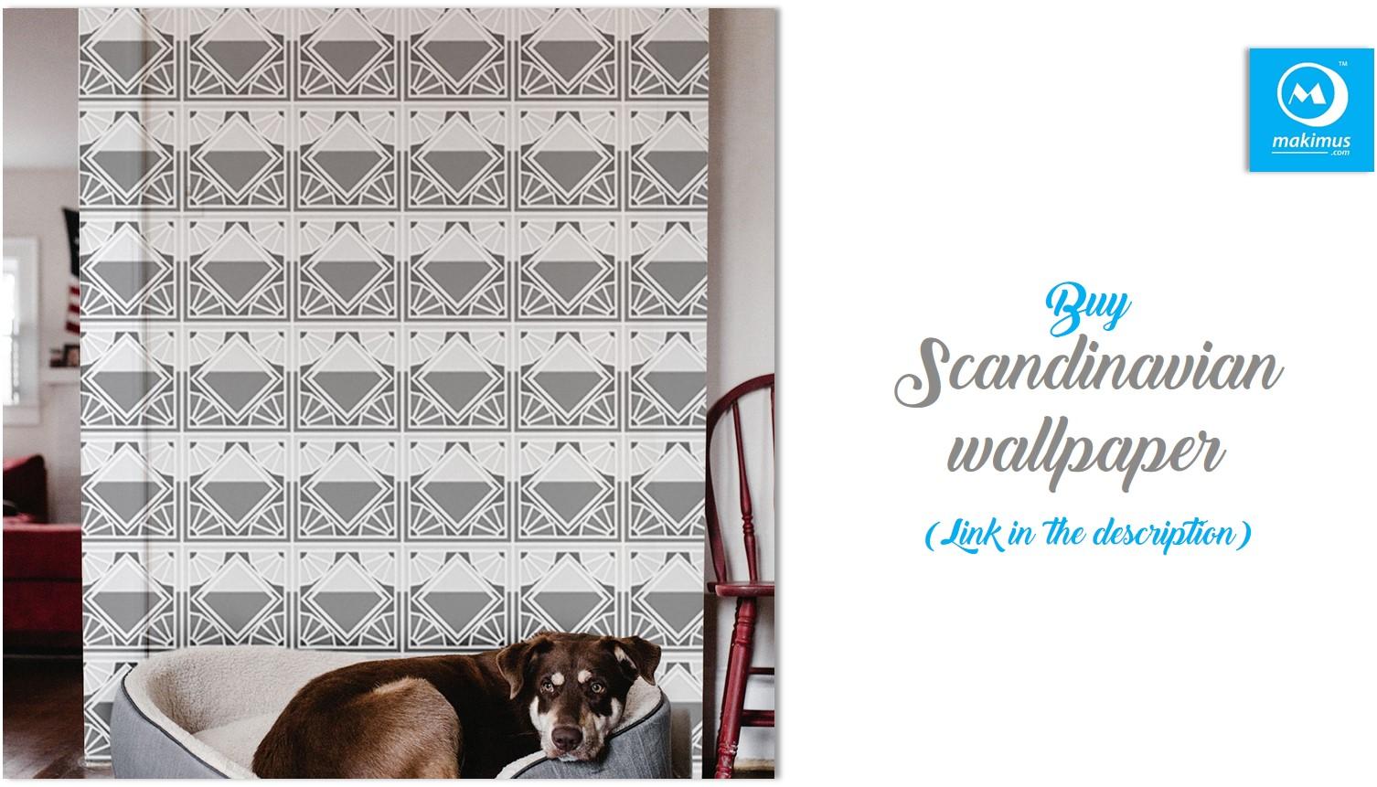 Buy scandinavian wallpaper online india