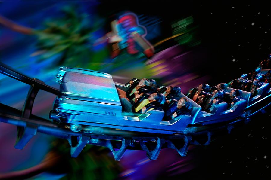 Rock 'n' roller coaster Walt Disney World