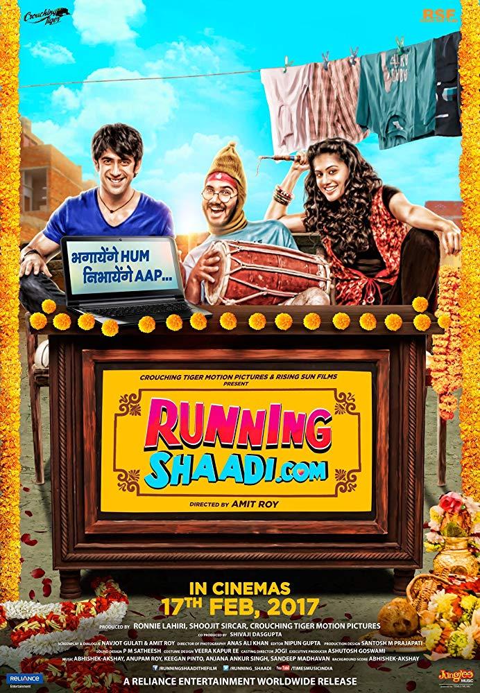 Running Shaadi (2017) Hindi 720p DVDRip 1GB x264