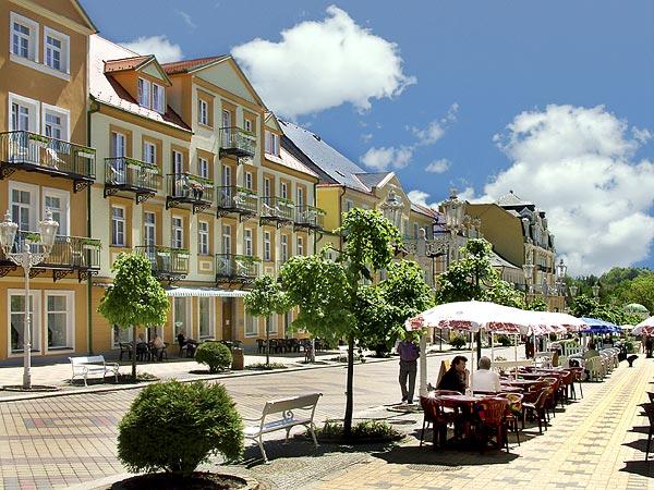 Город в Чехии Франтишковы Лазне