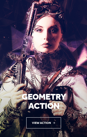 Geometry Photoshop Action
