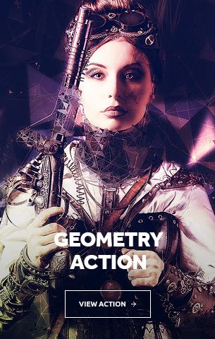 Geometry Photoshop Action
