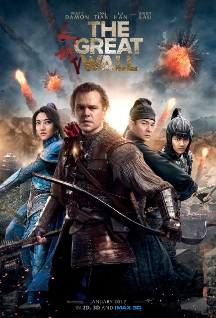 The Great Wall (2016) 720p WEB-DL 850MB