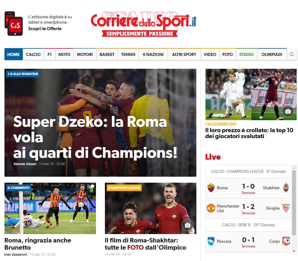 Супер Джеко и неадекватный Феррейра. Обзор итальянских СМИ после матча Рома - Шахтер - изображение 1