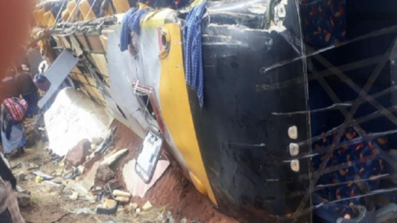 Fiscalía pedirá prisión preventiva para chófer por accidente en Puno