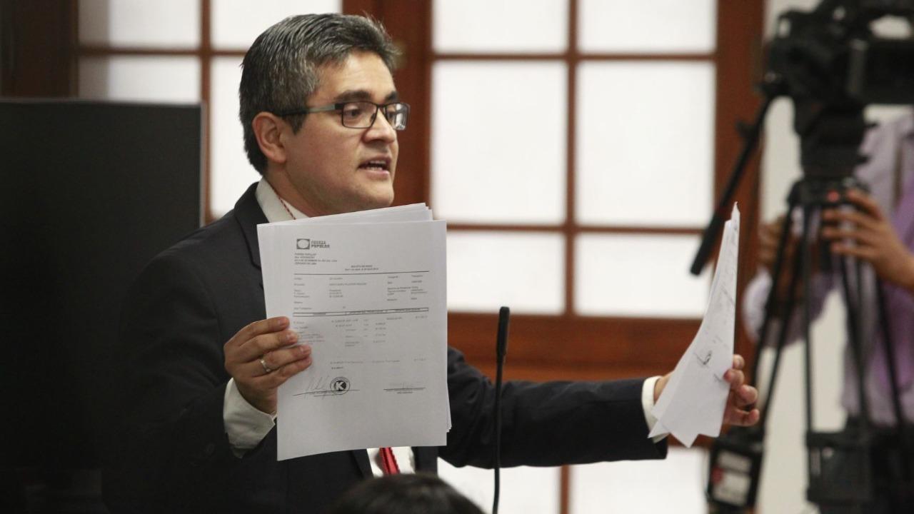 José Domingo Pérez: Fiscalía realiza un trabajo objetivo y adecuado