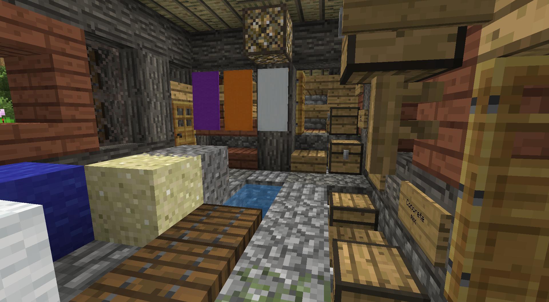 Dyer Interior