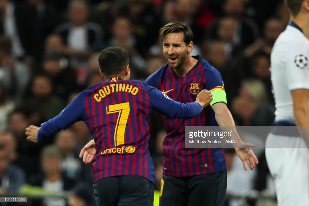 صور مباراة : توتنهام - برشلونة 2-4 ( 03-10-2018 )  Gg