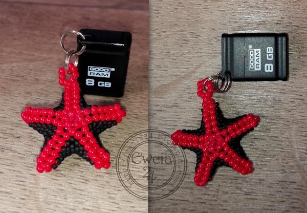 czerwono czrne gwiazdki