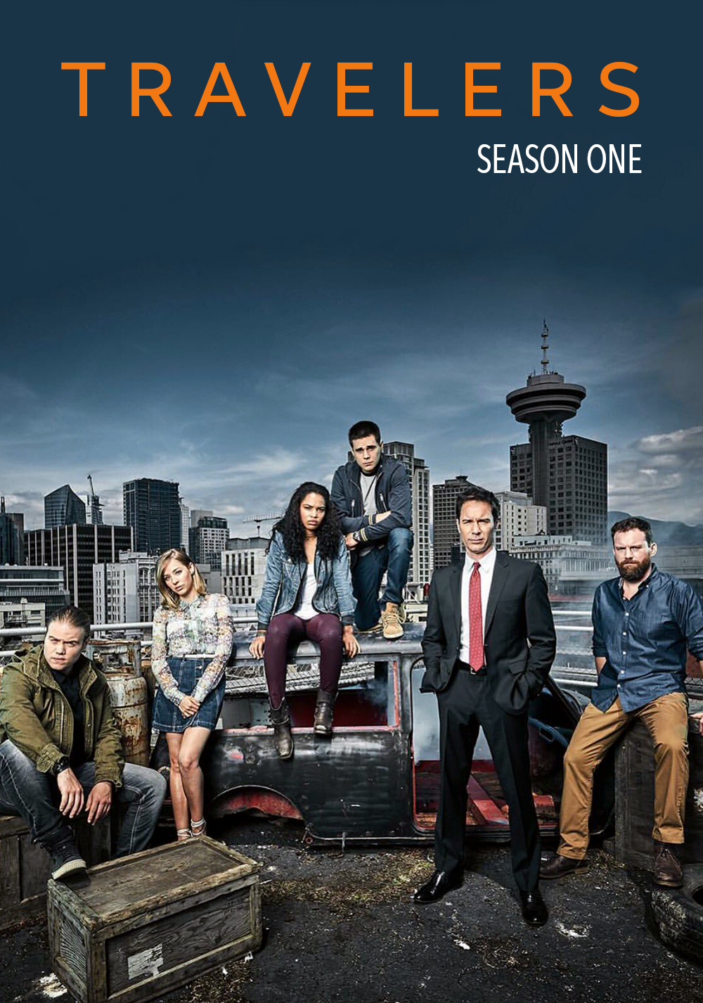 Travelers - Season 1 and 2 (New) - Mp4 x264 AC3 1080p