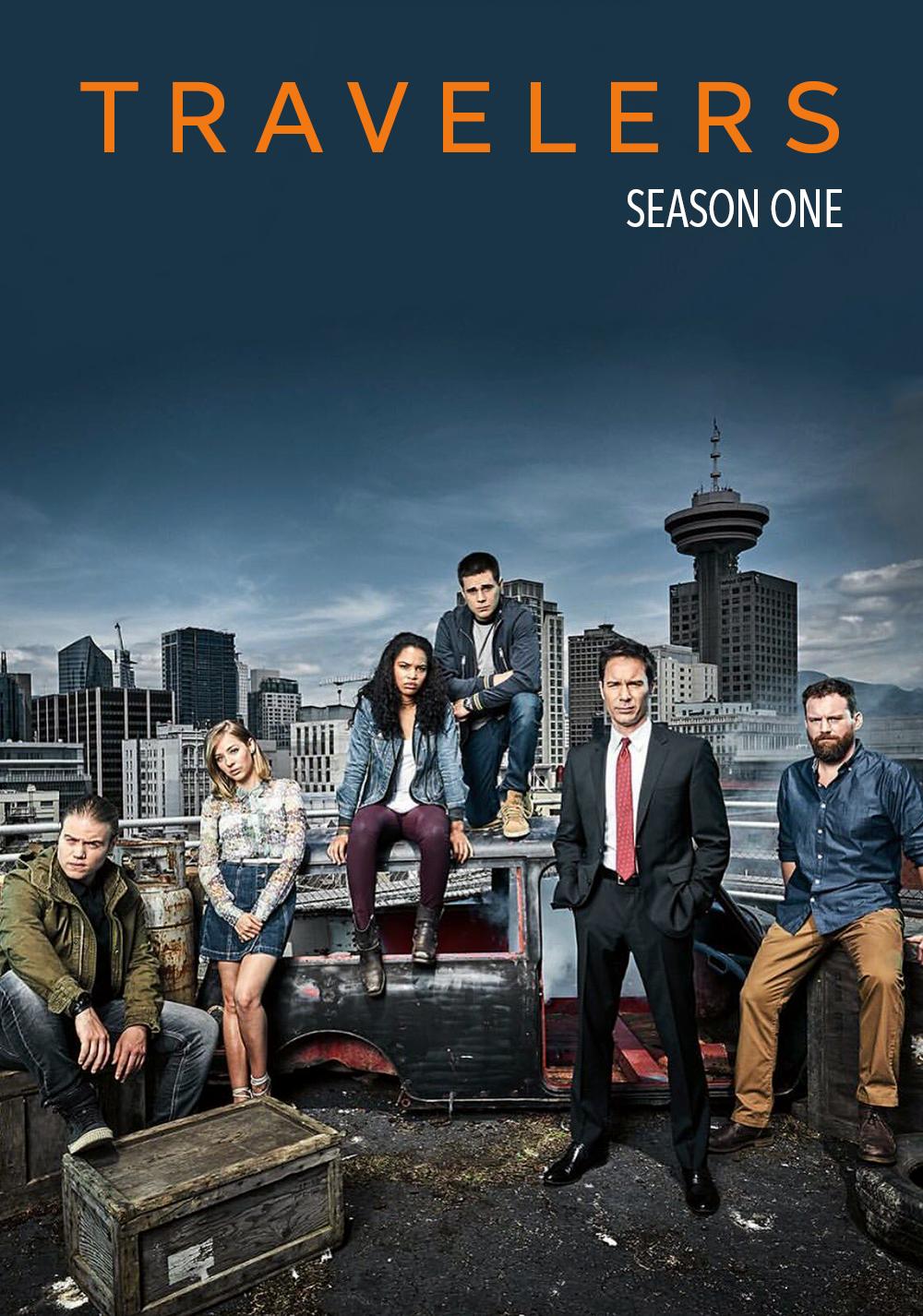 Travelers - Season 1 and 2 (New) - Mp4 x264 AC3 1080p