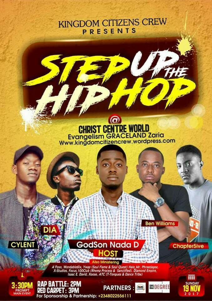 Event: Step Up The HipHop (19th Nov. 2017)