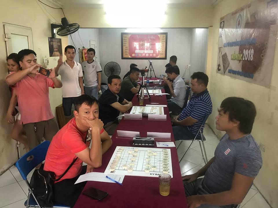 TTTT CLB Kinh Bắc vs CLB Kỳ Hữu : Lượt đi vòng Play-Off giải vô địch đồng đội cờ tướng miền Bắc 2018